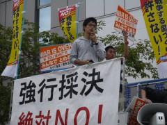 20150916 県政の会 大丸前 (5)