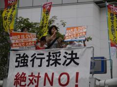 20150916 県政の会 大丸前 (2)