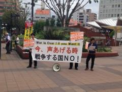 20150830 全国100万人行動 JR神戸